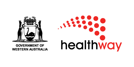 Healthway logo with government of Western Australia logo