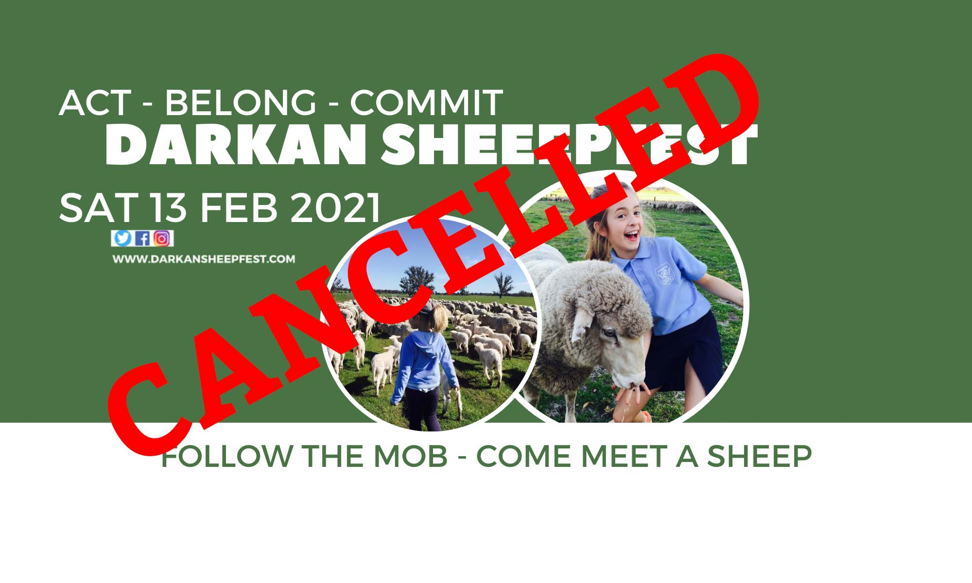 Act-Belong-Commit Darkan Sheepfest